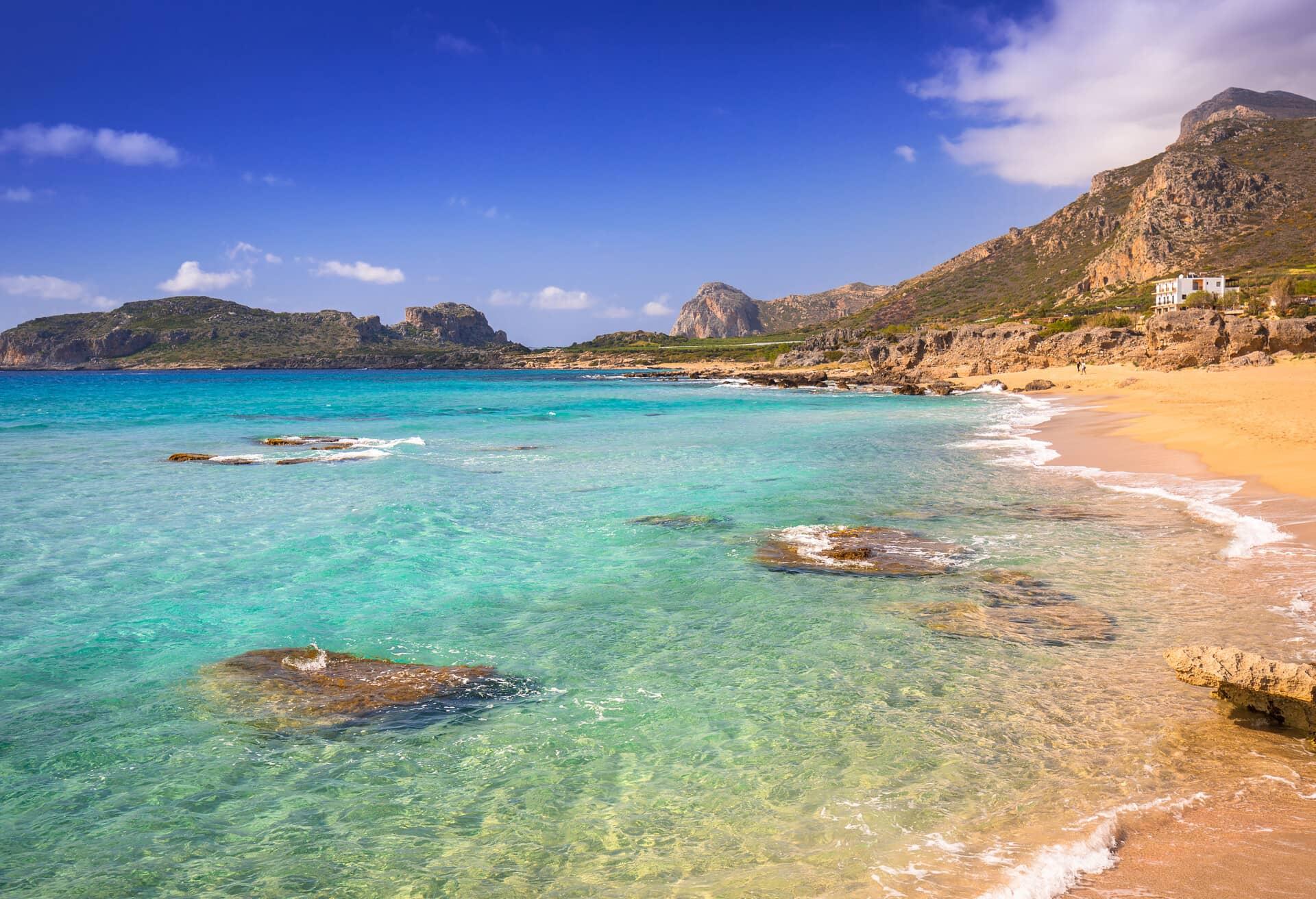 Kreta är den bästa ön för en strandsemester.