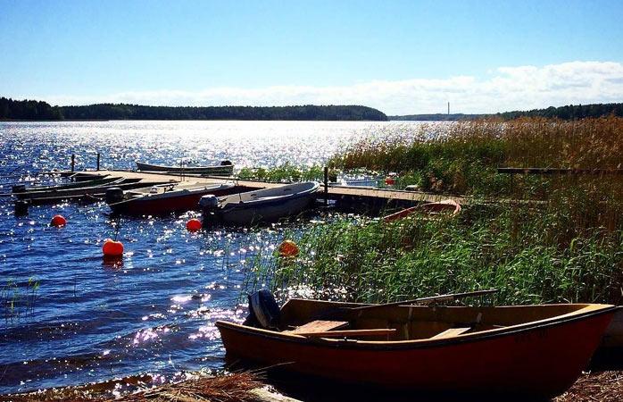 Utsikt över Vänern strax utanför Karlstad