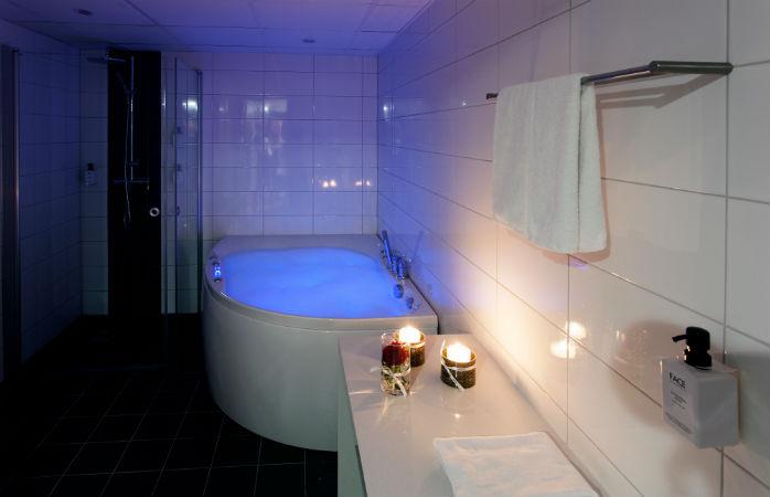 Hotell med jacuzzi på rummet i Malmö