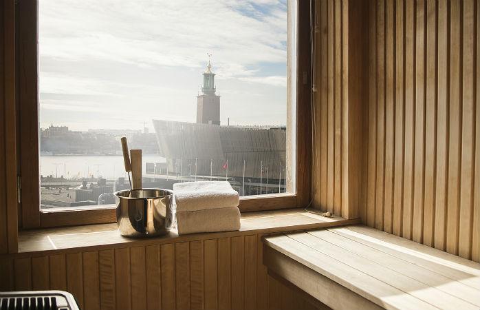 Ett centralt beläget hotell i Stockholm med jacuzzi på rummet