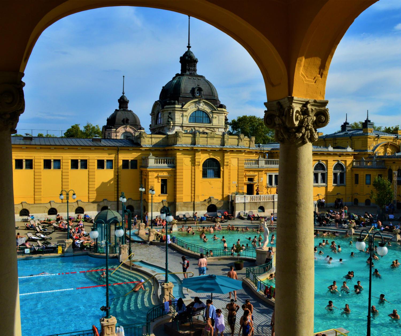 bästa spa hotell budapest