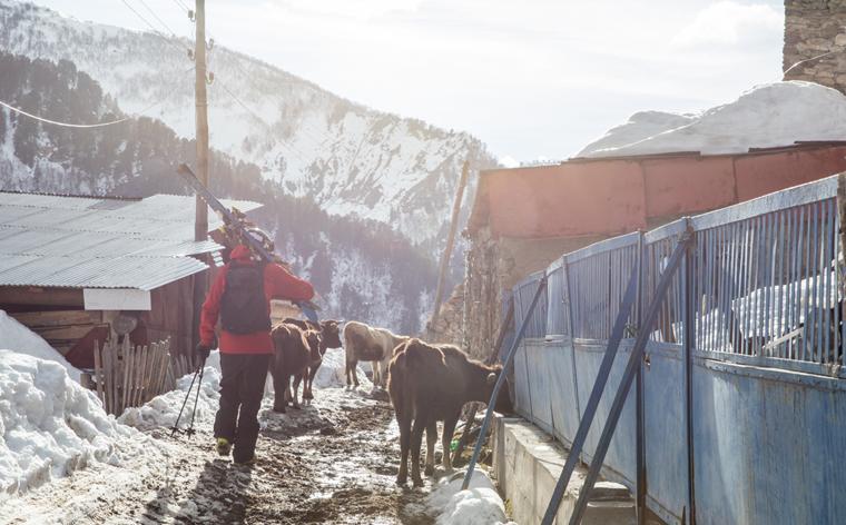 Garanterat ospårat i Georgien – en skidguide till Tetnuldi