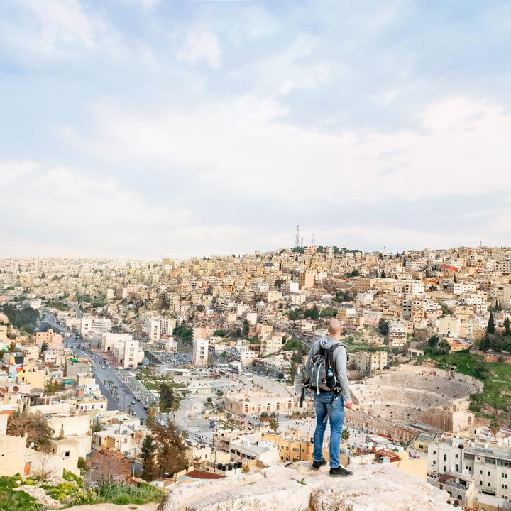 finest selection 4cee3 3a575 Flyg Mellanöstern Jordanien Amman
