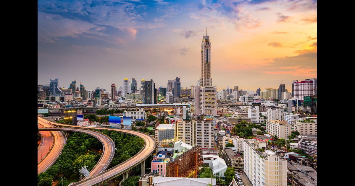 billig flyg bangkok